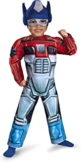Disguise Optimus Prime Rescue Bot Toddler Muscle Costume
