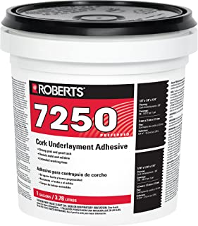 Roberts 7250-1 Pro Grade Cork Underlayment Adhesive, 1 Gallon