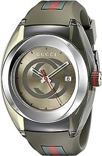Gucci SYNC XXL Khaki Watch(Model:YA137106)