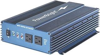 Power Bright Pure Sine Power Inverter 600 Watt True Sine Continuous 12 Volt DC to 120 Volt AC w/USB Charging Port. Perfect...