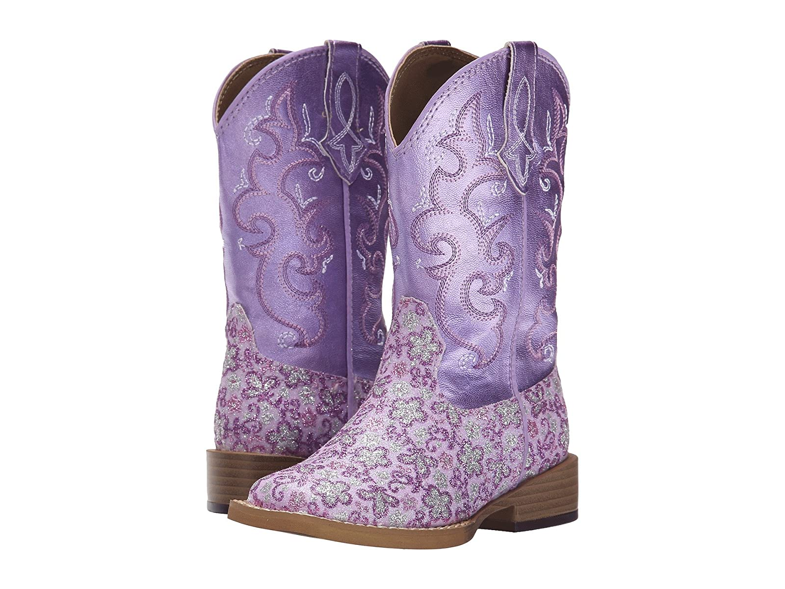 Roper Kids Lavender Square Toe Boot (Toddler/Little Kid)Economical and quality shoes