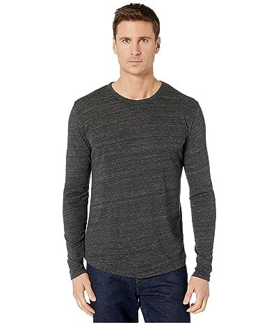 Alternative Long Sleeve Eco Shirttail Tee (Eco Black) Men