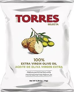トーレス 100%エクストラバージンオリーブオイルポテトチップス 40g
