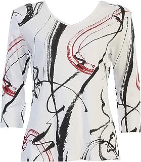 Jess & Jane Women's Matilda Cotton Tee Shirt Top