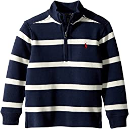 Polo Ralph Lauren Kids - Striped French-Rib Pullover (Toddler)