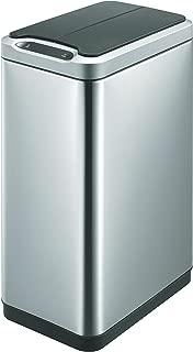 Acero Inoxidable 27/x 35,5/x 53,1/cm Acero Inoxidable Mate EKO VB 938820/Regent Step Bin 20L