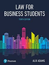 Adams: Law for Business Students (English Edition)