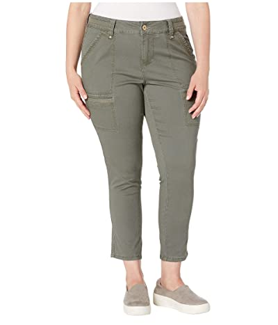Jag Jeans Plus Size Plus Size Easton Utility Pants (Jungle Palm) Women