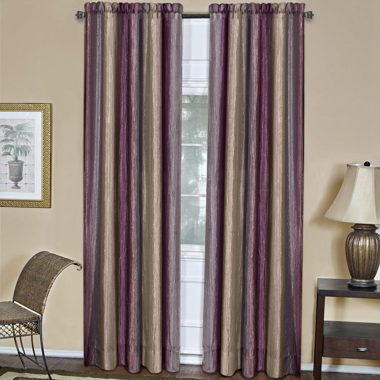 Achim Home Furnishings Ombre Window Curtain Panel, 50