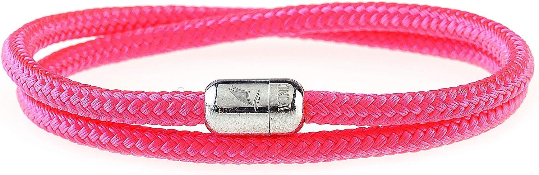 Wind Passion Pulsera Magnética de Paracord Trenzada Cuerda para Hombre y Mujer