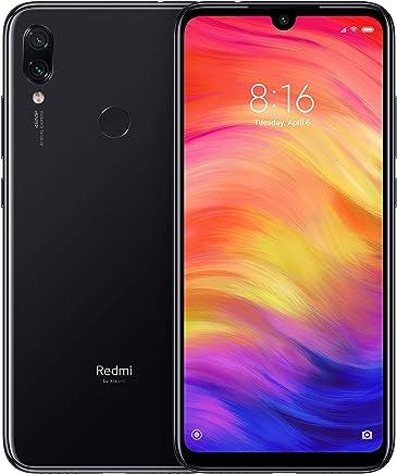 """Xiaomi Redmi Note 7 Smartphone da 6.3"""" FHD+ Dot Drop display, Snapdragon 660, 4 GB RAM, 128GB, 48 MP+5 MP Rear Dual Camera, Space Black  [Versione Globale]"""