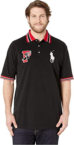 Big & Tall Short Sleeve Classic Fit Mesh Polo