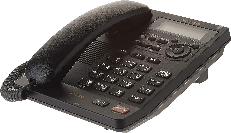 いつでも送料無料 Panasonic KX-TS620B Corded Answering 40%OFFの激安セール System Telephone