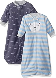 Carters Baby Boys 2-Pack Microfleece Sleepbag