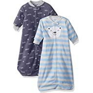 Carter's Baby Boys 2-Pack Microfleece Sleepbag