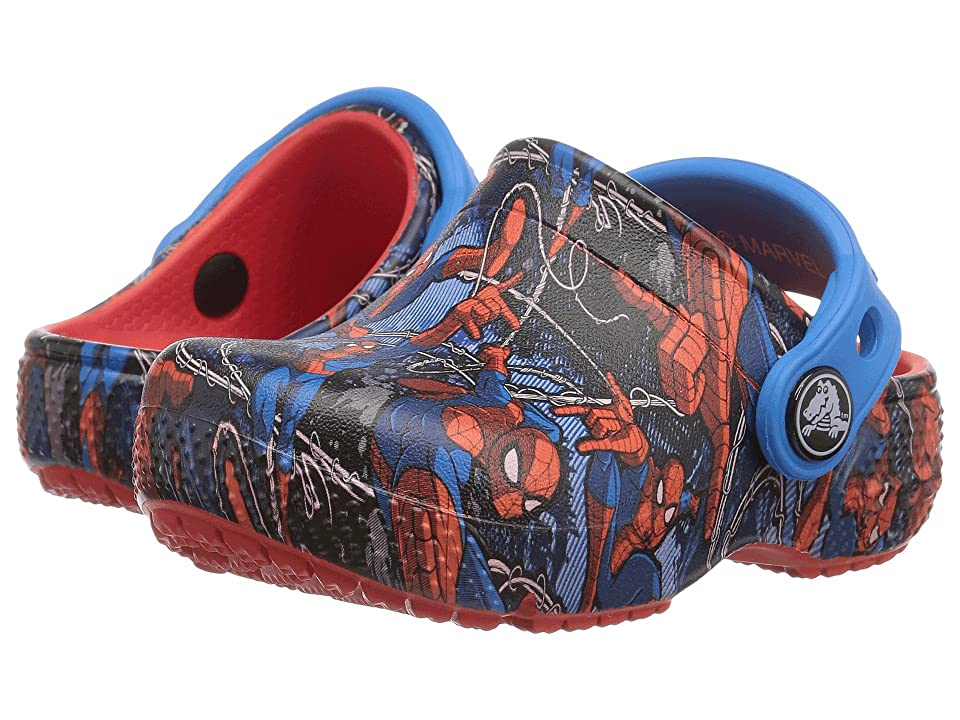 Crocs Kids CrocsFunLab Spider-Mantm (Toddler/Little Kid) (Flame) Boy