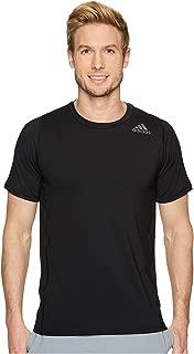 [adidas(アディダス)] メンズタンクトップ・Tシャツ Alphaskin Sport Fitted Short Sleeve Tee Black 2XL (2XL) One Size [並行輸入品]