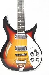 Haze Semi-Hollow Body Sunburst Electric Guitar,H-H Pickups +Free Bag HSRC 1910|