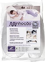 Travesseiro Minhocão com Capa, Fibrasca, Branco, 150x21x15
