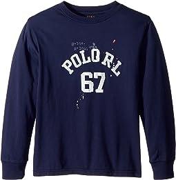 Polo Ralph Lauren Kids - Cotton Jersey Graphic T-Shirt (Big Kids)