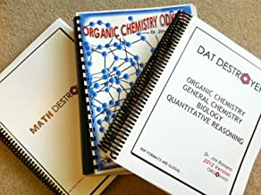 DAT Destroyer, Math and Organic Chemistry Odyssey 2012 (Power Pack)