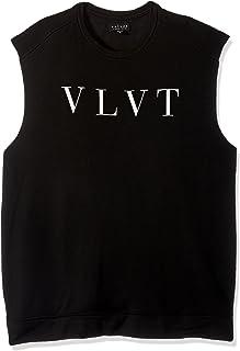 Men's s Moses Logo Sleeveless Tshirt, Black, XX-Large