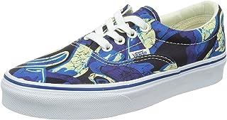 efed2510a9 Vans Unisex Era Doren Blue Print Sneakers Low Top Skate Shoes