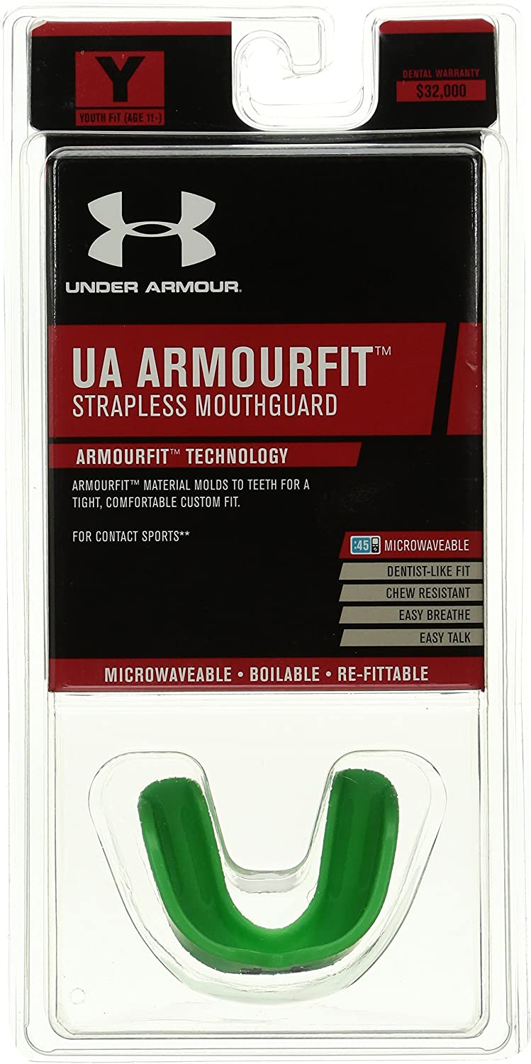 carga Casi oportunidad  Under Armour Mouthwear ArmourFit Mouthguard (Strapless) : Sports & Outdoors  - Amazon.com