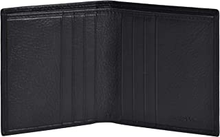 Eono by Amazon Small Leather Wallets with RFID- 2 Note Compartment Ultra Slim Wallet for Men & Women