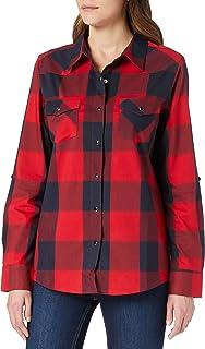 All Terrain Gear by Wrangler Women's Check Western Shirt
