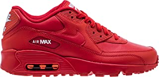 833412-606: Big Kid's Air Max 90 University Red/White GS Sneakers