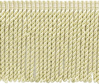 Off White 11 Yard Value Pack of 6 Inch Chainette Fringe Trim Style# CF06 Color Ivory 32.5 Feet  10M - OW
