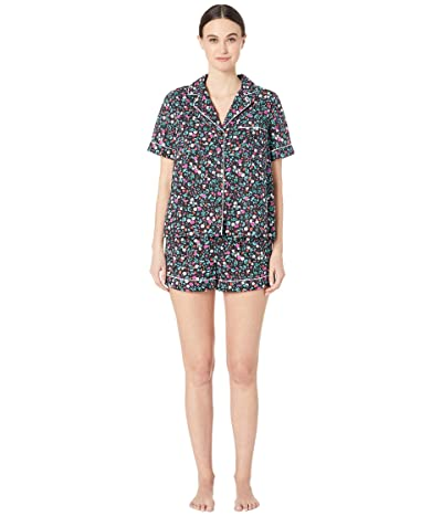 Kate Spade New York Cotton Lawn Short Pajama Set (Ditsy Flora) Women