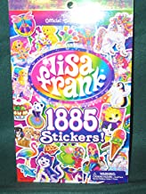 LISA FRANK Sticker Book - 1885 Stickers - 2nd Official Collector's Set!