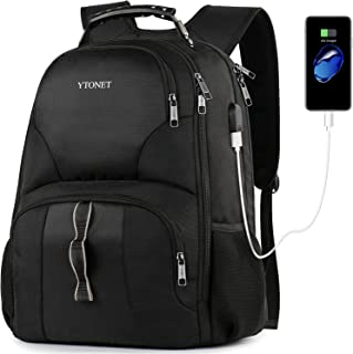Ytonet Business Travel Laptop Backpack, 17 Inch College School Backpacks for Men