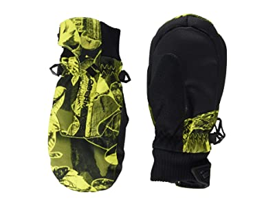 Obermeyer Kids Thumbs Up Mitten Print (Little Kids/Big Kids) (Night Vision Camo) Extreme Cold Weather Gloves