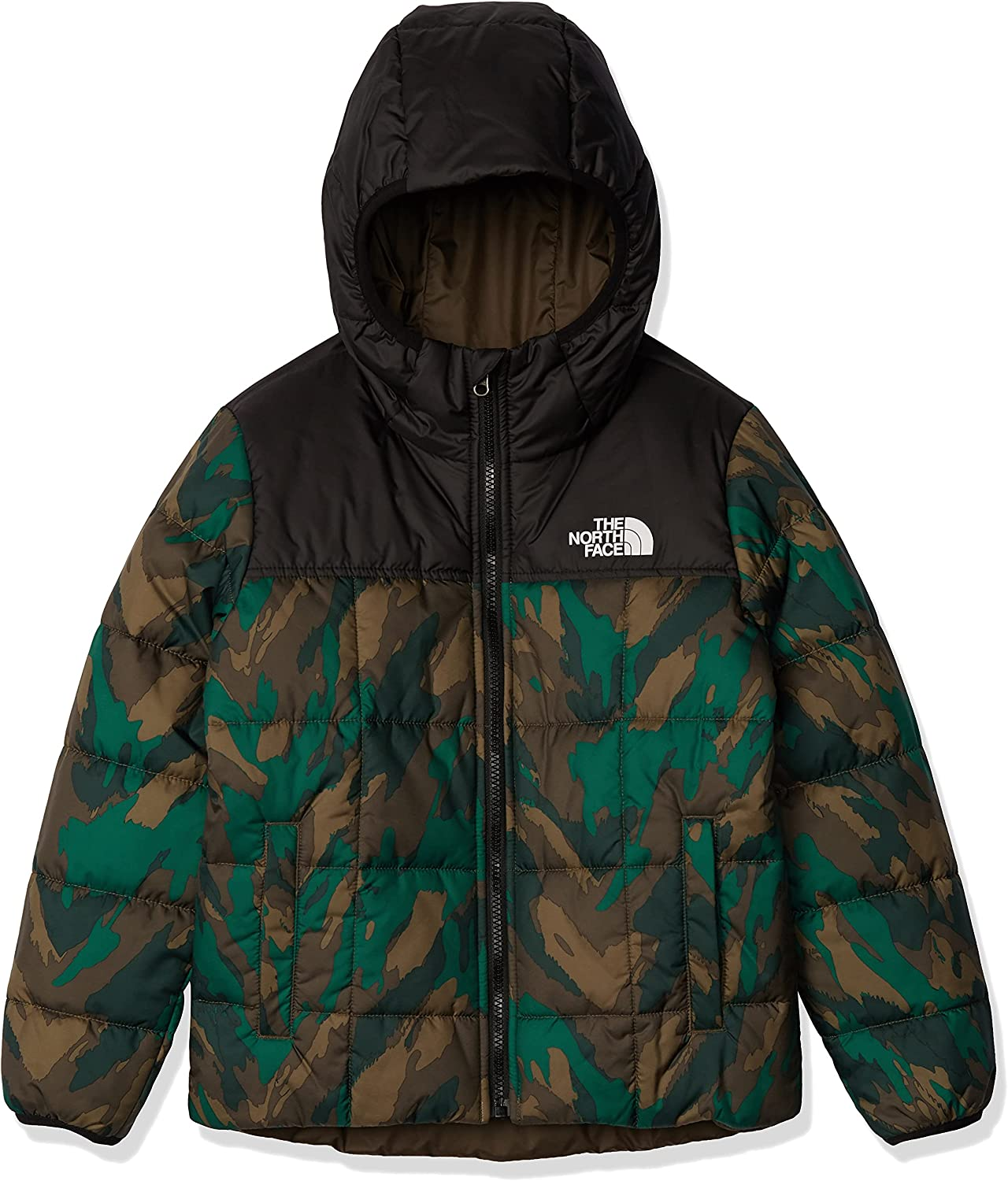 The North Face Little Kids/Big Kids Boys' Reversible Perrito Jacket : Clothing, Shoes & Jewelry