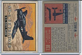 1952 Topps, Wings, 138 AD-5 Skyraider