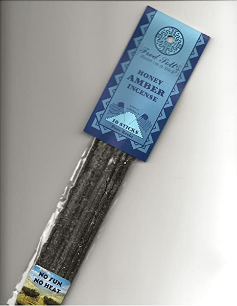 FRED SOLL S Resin ON A Stick Honey Amber Incense 10