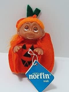 DAM Norfin Pumkin Troll Doll Halloween