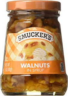 Smucker's Walnuts in Syrup Topping, 5-Ounce (Pack of 6)