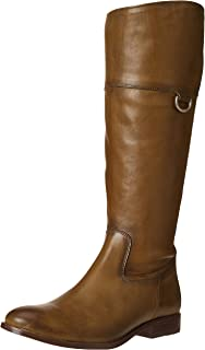 Frye Women's Melissa D Ring Tall Knee High Boot, Olive, 9.5