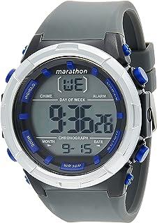 Timex Mens Quartz Watch, Digital Display and Resin Strap - TW5M33000