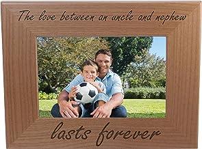 Uncle Gift Personalised Oak Photo Frame 4 x 6 WOD010-04