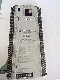 A-B ALLEN-BRADLEY 1791-IOBX 1791-10BX 128 POINT 24VDC DISTRIBUTED I/O MODULE, CV