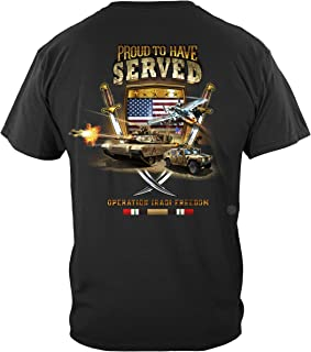 Erazor Bits camo | Iraqi Freedom Veteran T Shirt MM2370