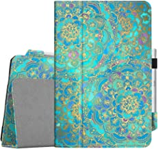 Fintie Folio Case for Samsung Galaxy Tab S4 10.5 2018 Model SM-T830/T835/T837, [Corner Protection] Premium Vegan Leather Stand Cover with S Pen Protective Holder Auto Sleep/Wake, Shades of Blue