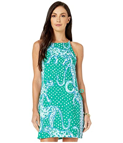 Lilly Pulitzer Pearl Romper (Emerald Isle On The Prowl Engineered Romper) Women