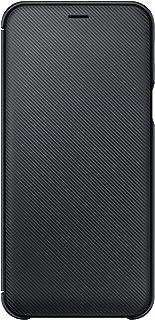 Samsung EF WA600 Brieftasche Cover für Galaxy A6, schwarz