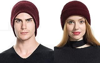 Elzama Wool - Merino Wool Feel Beanie Hat Winter Unisex Men Women Knit Cap